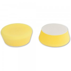 Proxxon Medium Yellow Polishing Sponges (Pkt 2)