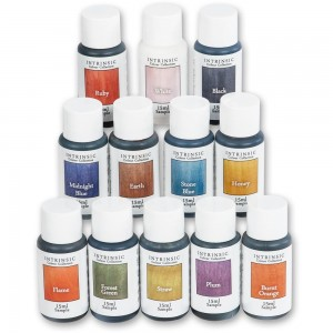 Hampshire Sheen Intrinsic Colour Wood Dye 15ml Sample Set