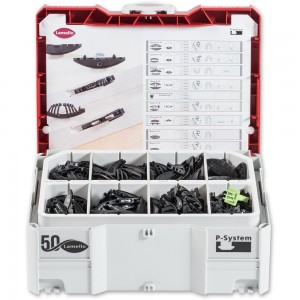 Lamello P-System Connector Assortment In Systainer 2 Case