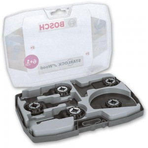 Bosch Multi-Tool Wood Blade Set 6+1 (Starlock)