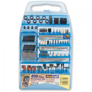 RotaCraft 400 Piece Rotary Tool Accessory Kit