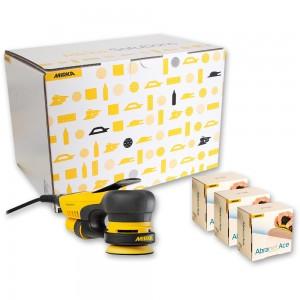 Mirka DEROS 350CV 77mm Orbit Sander With Deco Solutions Kit