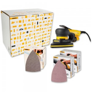 Mirka DEOS 663CV Delta Sander With Deco Solution Kit