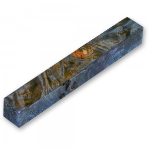 Craftprokits Stabilised Blue Maple Burl Pen Blank