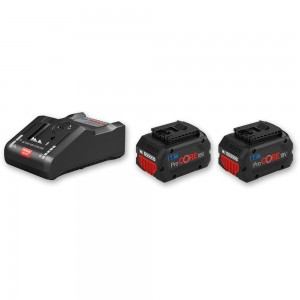 Bosch ProCore Li-Ion Batteries & Charger 18V (8.0Ah)