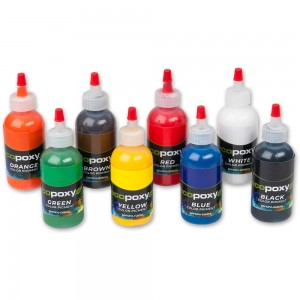 EcoPoxy Colour Pigment Dyes - Set 8 x 60ml