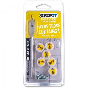 GripIt Curtain Kit