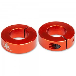 UJK Technology 20mm Parf Dog Stop Collars (Pkt 2)
