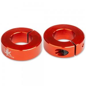 UJK 20mm Parf Dog Stop Collars (Pkt 2)