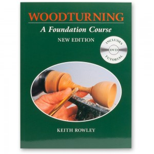 Woodturning A Foundation Course - Book and DVD