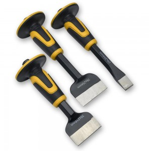 Roughneck 3 Piece Chisel & Bolster Set