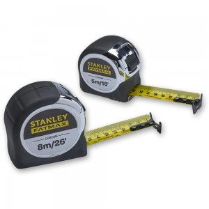 Stanley Chrome Tape Twin Pack