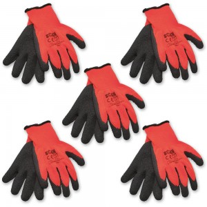 Scan Latex Thermal Gloves (Pack of 5)