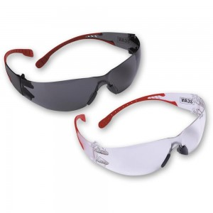 Scan Flexi Safety Glasses Twin Pack