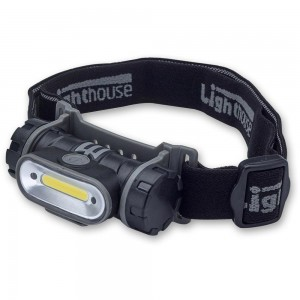 Lighthouse Rechargeable Headlight 150 Lumens
