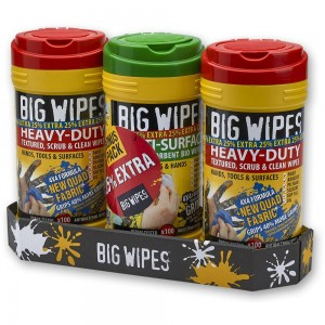 Big Wipes Triple Pack
