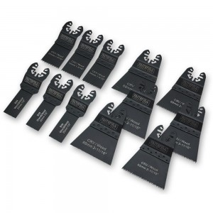 Faithfull 12 Piece Multi-Tool Blade Set