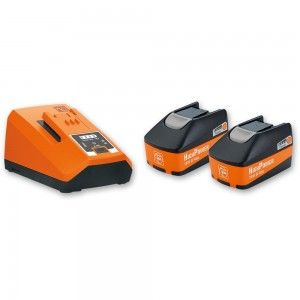 FEIN Batteries & Charger Set 18V (5.2Ah)