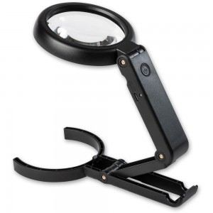 LightCraft Handheld LED Magnifier & Stand