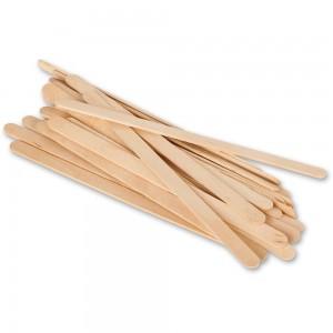 ModelCraft Wooden Mixing Sticks - 25 Pieces