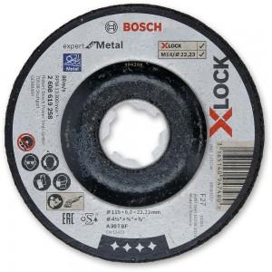 Bosch X-LOCK Metal Grinding Discs