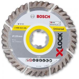 Bosch X-LOCK Diamond Disc 125mm x 2mm