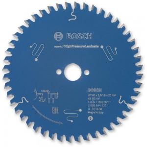 Bosch High Pressure Laminate Saw Blade 165mm x 48T