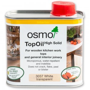 Osmo White Satin Top Oil - 500ml
