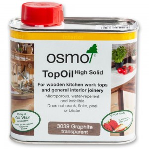 Osmo Graphite Satin Top Oil - 500ml