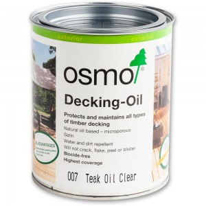 Osmo Decking Oil Clear