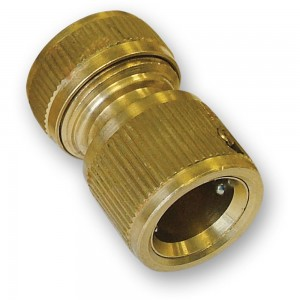 Faithfull Brass Female Water Stop Connector