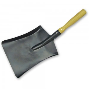 Faithfull Coal Shovel Steel Wooden Handle