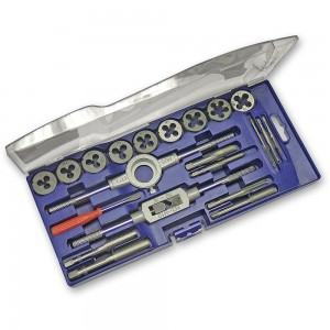Faithfull Metric Tap & Die Set - Carbon Steel (21 Piece)
