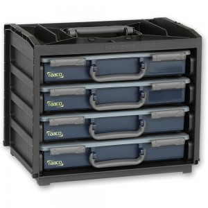 Raaco Portable HandyBox with 4 Assorters