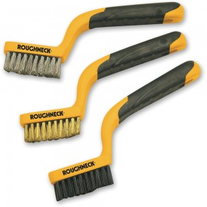 Roughneck 3 Piece Narrow Brush Set