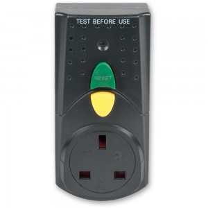 Faithfull RCD Adaptor (Circuit Breaker)