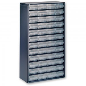 Raaco 1248-01 48 Drawer Metal Cabinet