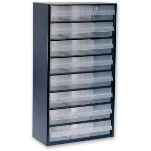 Raaco 1224-02 24 Drawer Metal Cabinet
