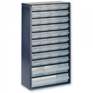 Raaco 1240-123 40 Drawer Metal Cabinet