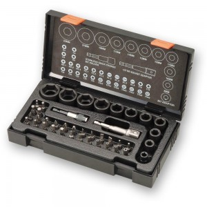 "Hitachi 41 Piece Impact Socket & Bit Set (1/2"")"