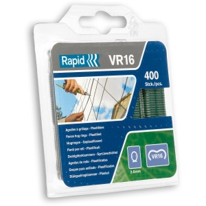 Rapid VR16 Galvanised Fence Hog Rings (Pack of 400)