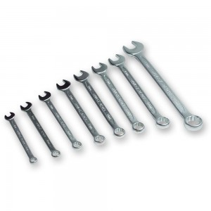 Stanley 8 Piece Metric Combination Spanner Set