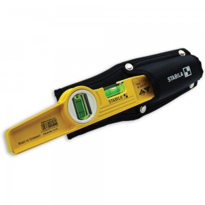 Stabila 81S-10MH Magnetic Torpedo Level with Holster