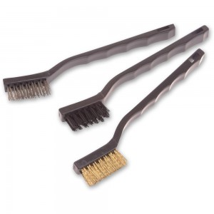 Stanley 3 Piece Abrasive Brush Set
