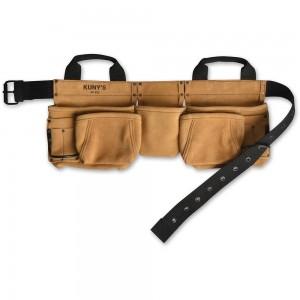 Kuny's AP622 Carpenters Apron 5 Pocket Split Grain Leather