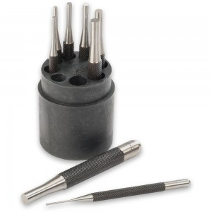 Axminster 8 Piece Parallel Pin Punch Set