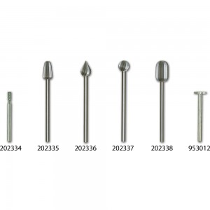 Proxxon High Speed Steel Individual Cutters  (Pkt 2)