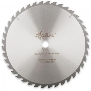 Axcaliber Contract 355mm TCT Saw Blades