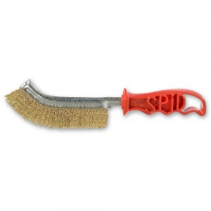Spid Universal Brass Plated Steel Wire Brush