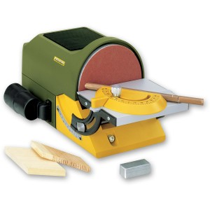 Proxxon TG 125/E Disc Sander & Self Adhesive Discs - PACKAGE DEAL